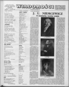Wiadomości, R. 13 nr 25 (638), 1958