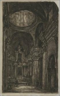 Wnętrze kościoła św. Kazimierza w Wilnie
