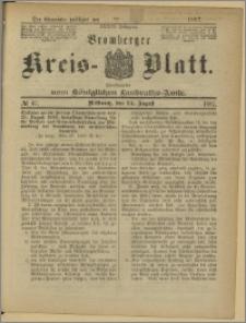 Bromberger Kreis-Blatt, 1887, nr 67