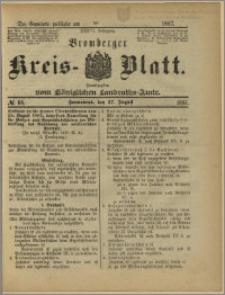 Bromberger Kreis-Blatt, 1887, nr 68