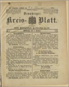 Bromberger Kreis-Blatt, 1888, nr 1
