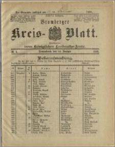 Bromberger Kreis-Blatt, 1888, nr 4