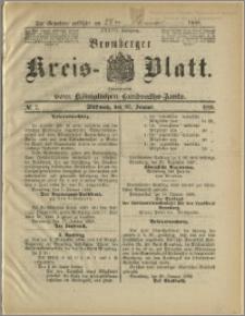 Bromberger Kreis-Blatt, 1888, nr 7