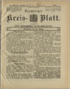 Bromberger Kreis-Blatt, 1888, nr 8
