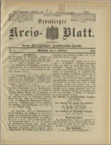 Bromberger Kreis-Blatt, 1888, nr 9
