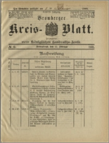 Bromberger Kreis-Blatt, 1888, nr 12