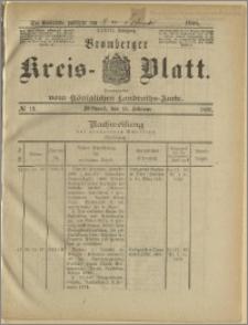 Bromberger Kreis-Blatt, 1888, nr 13
