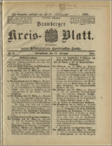 Bromberger Kreis-Blatt, 1888, nr 16