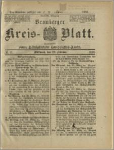 Bromberger Kreis-Blatt, 1888, nr 17