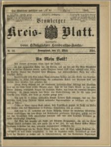 Bromberger Kreis-Blatt, 1888, nr 22