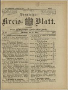 Bromberger Kreis-Blatt, 1888, nr 23