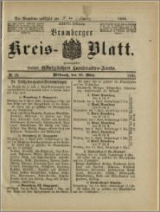 Bromberger Kreis-Blatt, 1888, nr 25