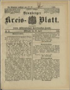 Bromberger Kreis-Blatt, 1888, nr 33