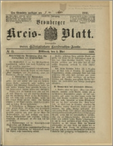Bromberger Kreis-Blatt, 1888, nr 35