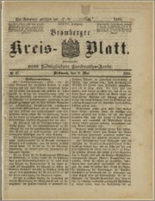 Bromberger Kreis-Blatt, 1888, nr 37