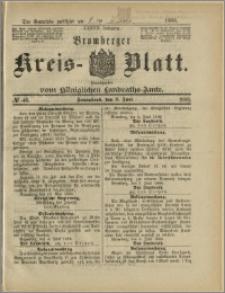 Bromberger Kreis-Blatt, 1888, nr 46
