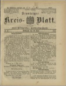 Bromberger Kreis-Blatt, 1888, nr 47