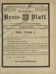Bromberger Kreis-Blatt, 1888, nr 49