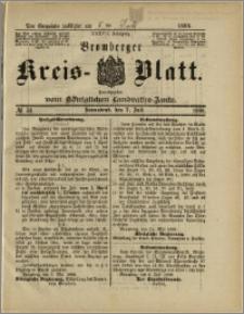 Bromberger Kreis-Blatt, 1888, nr 54