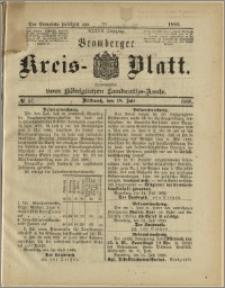 Bromberger Kreis-Blatt, 1888, nr 57