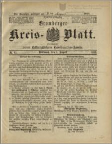 Bromberger Kreis-Blatt, 1888, nr 61