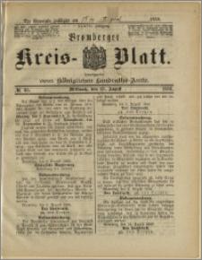 Bromberger Kreis-Blatt, 1888, nr 65