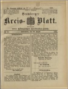 Bromberger Kreis-Blatt, 1888, nr 70