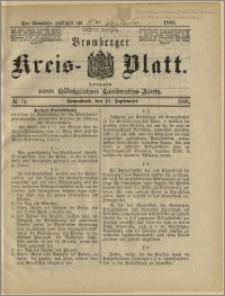 Bromberger Kreis-Blatt, 1888, nr 74
