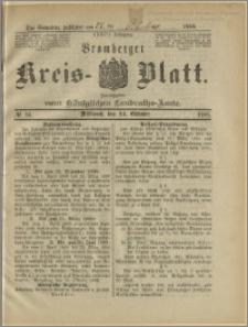 Bromberger Kreis-Blatt, 1888, nr 85