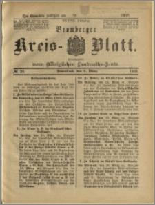 Bromberger Kreis-Blatt, 1889, nr 20