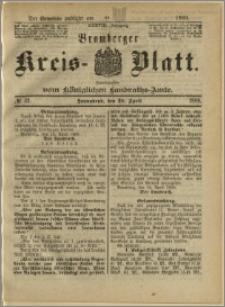 Bromberger Kreis-Blatt, 1889, nr 32