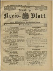 Bromberger Kreis-Blatt, 1889, nr 47