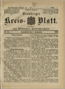Bromberger Kreis-Blatt, 1889, nr 72