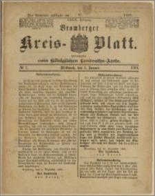 Bromberger Kreis-Blatt, 1890, nr 1