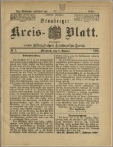 Bromberger Kreis-Blatt, 1890, nr 3