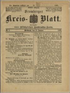 Bromberger Kreis-Blatt, 1890, nr 5