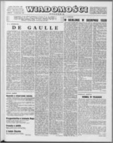 Wiadomości, R. 13 nr 41 (654), 1958