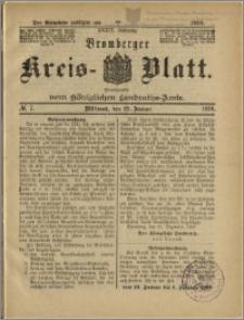 Bromberger Kreis-Blatt, 1890, nr 7