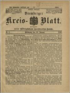 Bromberger Kreis-Blatt, 1890, nr 9