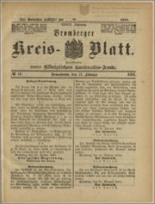 Bromberger Kreis-Blatt, 1890, nr 14