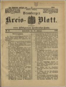 Bromberger Kreis-Blatt, 1890, nr 16