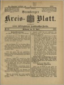 Bromberger Kreis-Blatt, 1890, nr 35