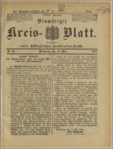 Bromberger Kreis-Blatt, 1890, nr 39