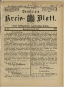 Bromberger Kreis-Blatt, 1890, nr 54