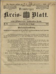Bromberger Kreis-Blatt, 1890, nr 62