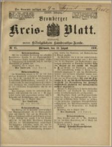 Bromberger Kreis-Blatt, 1890, nr 65