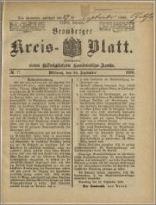 Bromberger Kreis-Blatt, 1890, nr 77