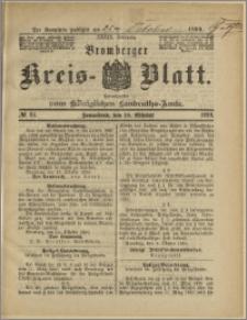 Bromberger Kreis-Blatt, 1890, nr 84