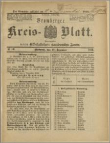 Bromberger Kreis-Blatt, 1890, nr 101