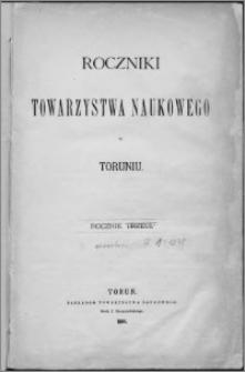 Roczniki Towarzystwa Naukowego w Toruniu, R. 1, (1878)